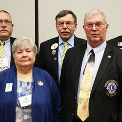 Members of the Iowa Lions Foundation